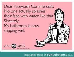 Dear Face wash Commercials