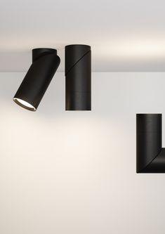 LED semi-inset aluminium spotlight BOB INCASSO Bob Collection By Letroh design Marco Spada, Alessandra Gipponi Lighting Store, Home Lighting, Chandelier Lighting, Led Ceiling, Ceiling Fixtures, Light Fixtures, Lighting Concepts, Lighting Design, Industrial Office Design