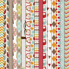Free Fall Is A Hoot Digital Paper Pack from Harper Finch