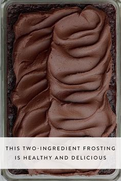 Introducing Genevieve Ko, author of Better Baking's,  two-ingredient recipe for the healthiest (but no less delicious) chocolate frosting that uses—of all things—a vegetable.