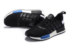 Sneakers: Adidas NMD_R1 \u0027black / blue\u0027
