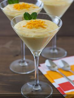 healthy food to eat in mexico Gourmet Recipes, Baking Recipes, New Recipes, Dessert Recipes, Healthy Recipes, Healthy Meals For Two, Healthy Foods To Eat, Orange Mousse, Sorbet Ice Cream