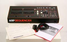 MATRIXSYNTH: Vintage ARP Model 1621 Sequencer