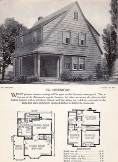 1928 Home Builders Catalog - The Dinsmore by American Vintage Home, via Flickr