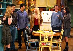 """Loved Friends' character """"Rachel Green""""'s style on the final episode."""