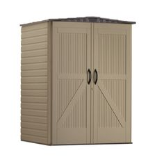 Rubbermaid�Roughneck Gable Storage Shed (Common: 5-ft x 4-ft; Interior Dimensions: 4.33-ft x 4-ft)