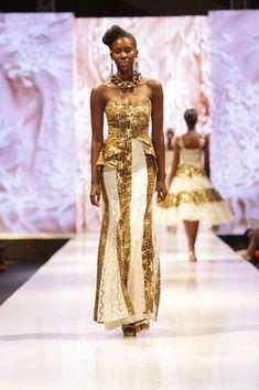 FAB RUNWAY: Glitz Africa Fashion Week 2013: Ghanaian designer, House of Eccentric