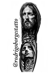 Jesus Tatoo, Jesus Tattoo Sleeve, Christ Tattoo, Sleeve Tattoos, Dove Tattoos, Forarm Tattoos, Jesus Tattoo Design, Photoshop Tattoo, Religion Tattoos