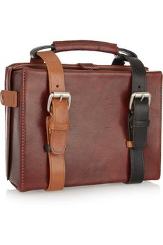 ACNE  Ralston leather briefcase tote