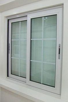 Aluminum Profile Sliding Window Design for Homes Aluminium Windows And Doors, Sliding Windows, Casement Windows, Sliding Doors, Sliding Window Design, Window Grill Design, Door Design, Double Glazed Window, Window Styles