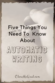 Is automatic writing safe to do? It can be an amazing thing if it is done well! Here are five tips for doing automatic writing safely. Writing A Book, Writing Tips, Writing Prompts, Psychic Development, Spiritual Development, Spiritual Life, Spiritual Awakening, Writing Therapy, Tarot