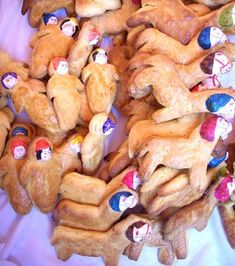 Tantawawas (Bread Babies) made in Bolivia on Día de los Muertos (Day of the Dead)