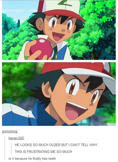 Is This Why Ash Looks Older?