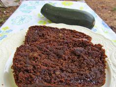 Chocolate Zucchini Bread #gluten free #vegan l