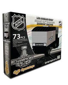 LOS ANGELES KINGS 2014 STANLEY CUP CHAMPIONS ZAMBONI MACHINE 73 PCS SET OYO NEW