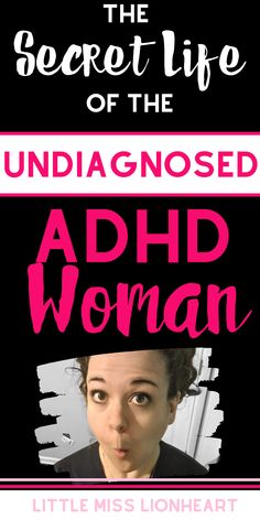 ADHD is under-diagnosed in women because it shows up differently! If you're wondering if you might have undiagnosed ADHD, this post is for you. Check out the sign and symptoms of ADHD in women.