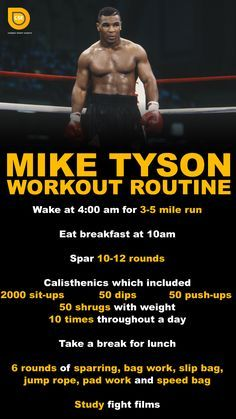 Boxing Workout With Bag, Boxing Workout Routine, Boxer Workout, Kickboxing Workout, Workout Partner, Cardio Boxing, Kick Boxing, Mike Tyson Workout, Mike Tyson Training