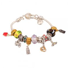 "NEW ITEM! ""I Heart New York City"" Euro Charm Bracelet - $6 start bid at the Ultimate Bazaar live Tophatter.com auction, going on now. Come join in the fun of real-time bidding!"