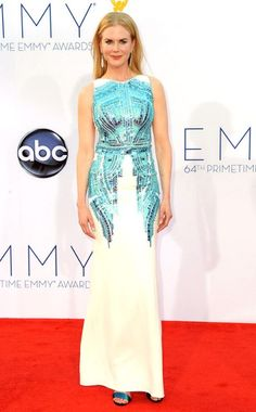 Emmy Awards, Nicole Kidman   Her modern, clean sense of style shines through in this gown.