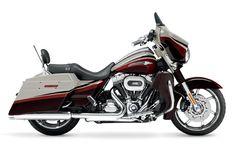 Harley Davidson motorcycles.