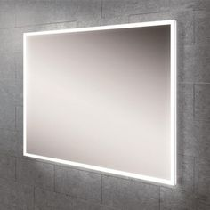 Globe 60 Mirror - Landscape or portrait steam free LED mirror with colour temperature changing ambient lighting & sensor switch. Size: x x Vanity Mirror, Bathroom Mirror, Led Mirror Bathroom, Bathroom Vanity Mirror, Creative Bath, Amazing Bathrooms, Mirror Decor, Bathroom Mirror Lights, Mirror
