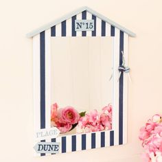 Are you interested in our Beach Hut Nautical Wall Mirror? With our nautical bathroom wall mirror you need look no further.