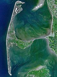 Söl / Sylt (Schleswig-Holstein, Kreis Nordfriesland) - Satelliten-Skelt fan Söl'