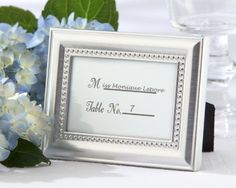 Beautifully Beaded Silver Photo FramePlaceholder As seen in the hit movie 27 Dresses 48 count ** You can get additional details at the image link.
