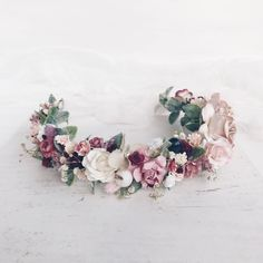 A personal favorite from my Etsy shop https://www.etsy.com/listing/463751016/flower-crown-bridal-flower-crown-flower