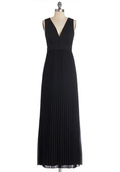 Honored Occasion Dress. Your altruistic nature is being honored at tonights gala, as well as this black maxi dress you wear for the event. #black #prom #modcloth