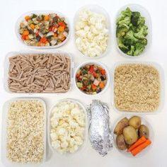 Organización semanal en la cocina | la gloria vegana