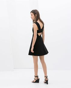 Image 1 of DRESS WITH CUT-OUT BACK from Zara