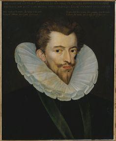 CYF119  - Le portrait du Duc de Guise, un peu effrayant, non?