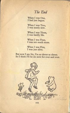 Birthday quotes for kids children so true 37 ideas Winnie The Pooh Quotes, Winnie The Pooh Friends, The Words, Poetry Quotes, Book Quotes, A A Milne Quotes, Eeyore Quotes, Now We Are Six, Kids Poems