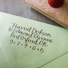 Address stamp! I'm buying this as soon as I have a permanent  address! Coolest one I've seen!