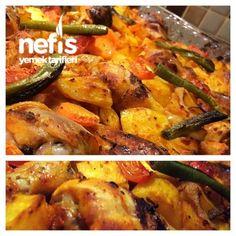 Nar gibi Kızaran Tavuk Baget (Fırında) – Nefis Yemek Tarifleri