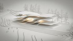 Architecture Model Making, Futuristic Architecture, Concept Architecture, Amazing Architecture, Contemporary Architecture, Architecture Design, Minimal Drawings, Archi Design, Arch Model