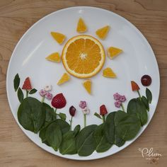 Spring is warming us up from the inside out! #FoodArt #PlumOrganics #Sunshine…