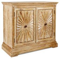 "Sedona Valley 42"" Sunburst Cabinet"