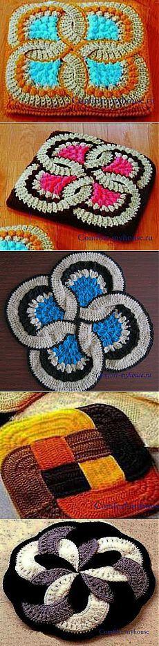 Tricô tapete japonês. A ideia original | Conforto e aconchego da minha casa
