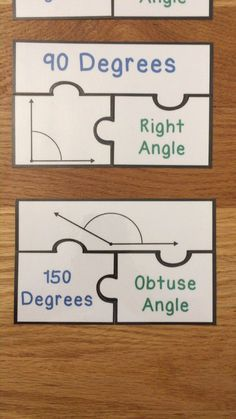 Measuring Angles with a Protractor Game Puzzles Type of Angle Measurement Activity Angle Meas 4th Grade Activities, Geometry Activities, Measurement Activities, Types Of Angles, Teaching Math, Teaching Geometry, Homeschool Math, Homeschooling, Math Notes