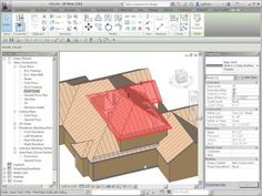 Revit Roof: Cleaning up overlapping Roofs - YouTube