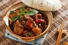 (經典不敗料理) 三杯雞食譜、作法 | 男人廚房1+1的多多開伙食譜分享