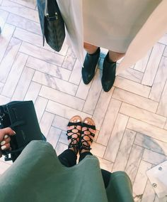 """Jeanine Amapola on Instagram: """"We saw marble floors and knew we had to take a pic  • I just uploaded a NEW video!!! Link in my bio! """""""