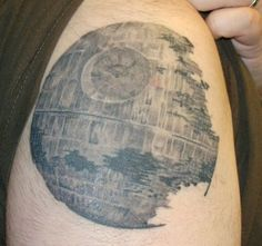 Death Star Tattoo #starwars