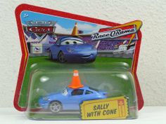 Disney Pixar Cars Sally with Cone Diecast Short Card Race O Rama 1:55 Scale Mattel by Mattel. $64.95. Disney Pixar Cars Sally with Cone Diecast Short Card Race O Rama 1:55 Scale Mattel. Disney Pixar Cars Sally with Cone Diecast Short Card Race O Rama 1:55 Scale Mattel. Very Hard to Find