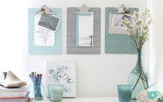 5 ideias para decorar com pranchetas a casa