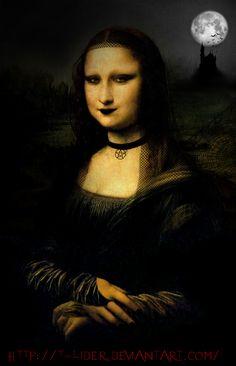 Mona Gothic by t-lider.deviantart.com