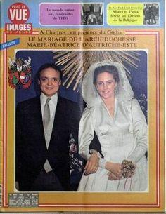 Conde Riprand de Arco-Zinneberg & Archiduquesa María Beatriz de Austria-Este