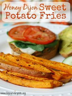 Honey Dijon Sweet Potato Fries